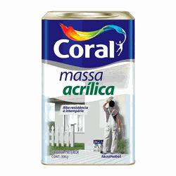 MASSA ACRILICA 27KG CORAL - TOTAL TINTAS DISTRIBUIDORA