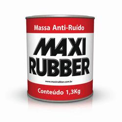 MASSA ANTI RUIDO 1,3 KG MAXI RUBBER - TOTAL TINTAS DISTRIBUIDORA