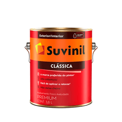 TINTA FOSCO SUVINIL CLASSICA GELO 3,6L - TOTAL TINTAS DISTRIBUIDORA