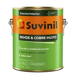 TINTA ACRILICA SUVINIL RENDE E COBRE MUITO GELO 3,... - TOTAL TINTAS DISTRIBUIDORA