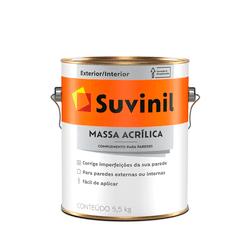 MASSA ACRILICA 5,5KG SUVINIL - TOTAL TINTAS DISTRIBUIDORA