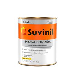 MASSA CORRIDA 1,4KG SUVINIL - TOTAL TINTAS DISTRIBUIDORA