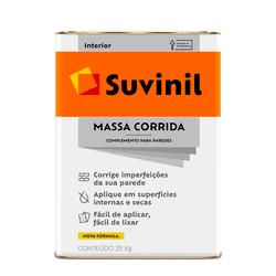 MASSA CORRIDA 25KG SUVINIL - TOTAL TINTAS DISTRIBUIDORA