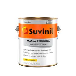 MASSA CORIDA 5,7KG SUVINIL - TOTAL TINTAS DISTRIBUIDORA