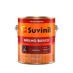 VERNIZ SUVINIL BRILHO BÁSICO BRIILHANTE 3,6L - TOTAL TINTAS DISTRIBUIDORA