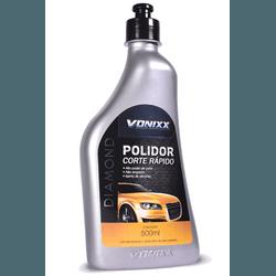 POLIDOR CORTE RAPIDO VONIXX 500 ML - TOTAL TINTAS DISTRIBUIDORA