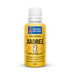 CORANTE AMARELO 50 ML XADREZ - TOTAL TINTAS DISTRIBUIDORA