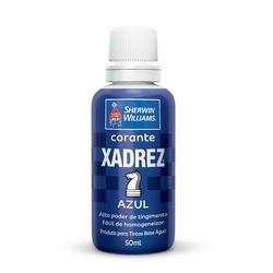 CORANTE AZUL 50 ML XADREZ - TOTAL TINTAS DISTRIBUIDORA