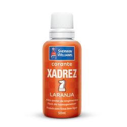 CORANTE LARANJA 50 ML XADREZ - TOTAL TINTAS DISTRIBUIDORA