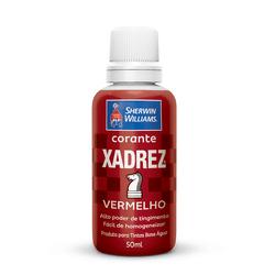 CORANTE VERMELHO 50 ML XADREZ - TOTAL TINTAS DISTRIBUIDORA