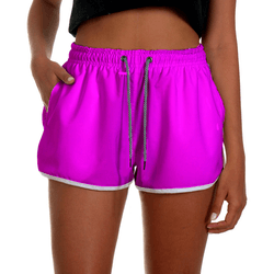 Short Praia Feminino Rosa Neon Use Thuco - FM1033 - Use Thuco