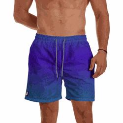 Short Praia Masculino Polvo Degrade Use Thuco Azul... - Use Thuco