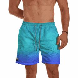 Short Praia Masculino Fundo do Mar Degrade Use Thu... - Use Thuco
