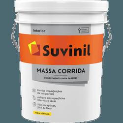 MASSA CORRIDA PVA 25KG 14,8L BALDE 50687533-SUVINI... - VIA BRASIL CASA & CONSTRUÇÃO
