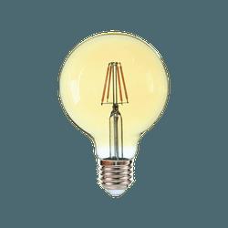 LAMPADA LED GLOBO G95 E27 4W BIVOLT 2400K VINTAGE-... - VIA BRASIL CASA & CONSTRUÇÃO