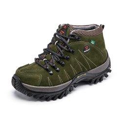 1fc0c37b8 Tênis Coturno Masculino Adventure Bergally Verde E..