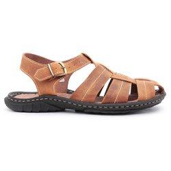 bbd48439e Tamanho Especial Sandálias e Chinelos em Couro | Centuria Calçados