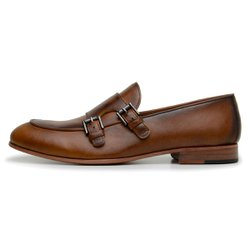 SAPATO CASUAL MASCULINO LOAFER CNS ERIN WHISKY
