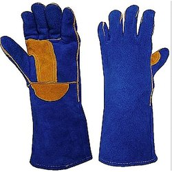 Luva para Soldador Work Premium Azul HSD - 893