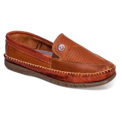 d5a21174ec Sapatilha Casual Masculina Ranster Couro Whisky