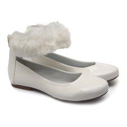 4254a05061 Sapato de Tornozeleira com Pêlo Infantil Gats