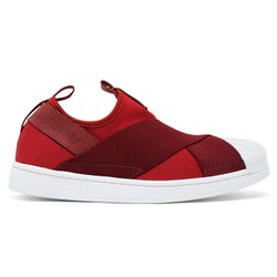 Tenis Adidas Superstar Slip-On - Vinho