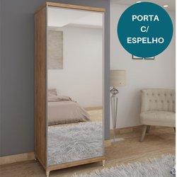 Sapateira Gelius Estilo 1 Porta Madeirado com Espelho
