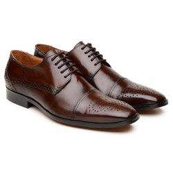 Sapato Executivo Castanho 16772