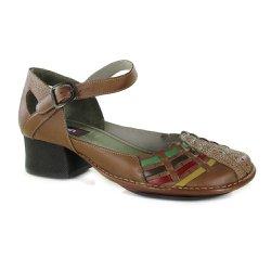 c6e36476b Sapato New Kelly Em Couro Amêndoa J.Gean - CK0077-.