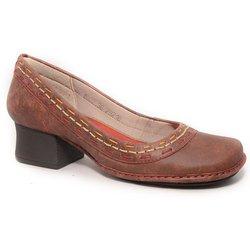 6a76cb950 Sapato Em Couro New Kelly vermelho J.Gean - CK002.