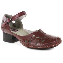 244ba538c Sapato em Couro New Kelly Vermelho J.Gean - CK002.