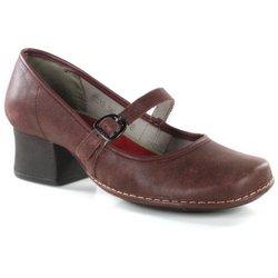 a6df4f9110 Sapato Em Couro New Kelly Vermelho J.Gean - CK003.