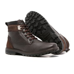 Bota Masculina Quebec Brooklyn Brown