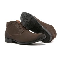 Bota Masculina Quebec Montego Bay Brown
