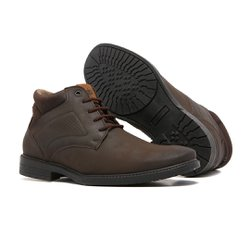 Bota Masculina Quebec New York Brown