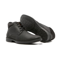 Bota Masculina Quebec New York Black