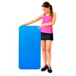 Colchonete Academia Ginástica Fitness EVA Azul 10mm
