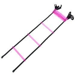 Escada Agilidade Plastico Injetável Rosa