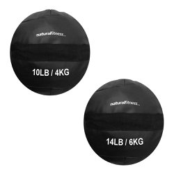 Kit Wall Ball 4kg - 6kg Natural Fitness