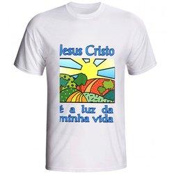 Camiseta Jesus Cristo é a Luz da minha Vida - DI.6...