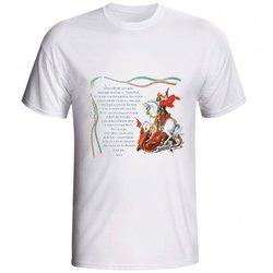 Camiseta São Jorge Oração - DI.66.68