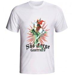 Camiseta Glorioso São Jorge Resplendor Gliter - DI...