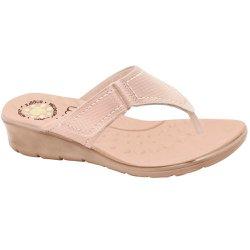 Chinelo Confort Feminino - Bistrô - MA10007NB - Pé Relax Sapatos Confortáveis