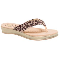 Chinelo de Oncinha - Estampado - MA128157O - Pé Relax Sapatos Confortáveis