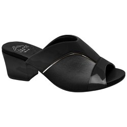 26a6070242 Mule para Joanete - Preto New Indiana - MA176084PV - Pé Relax Sapatos  Confortáveis