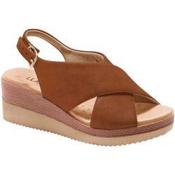 Anabela Confortável - Marrom - MA581026MA - Pé Relax Sapatos Confortáveis