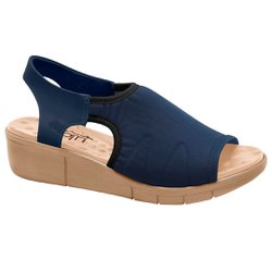 Sandália Proteção Dos Pés - Azul - MA585011AZ - Pé Relax Sapatos Confortáveis