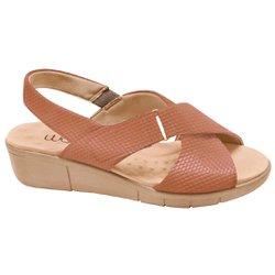Sandália Ortopédica Feminina - Marrom - MA585004M - Pé Relax Sapatos Confortáveis