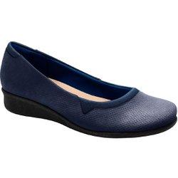 Sapato Feminino Boneca - Azul - MA302031AZ - Pé Relax Sapatos Confortáveis