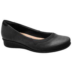 Sapato Feminino Boneca - Preto - MA302031PT - Pé Relax Sapatos Confortáveis
